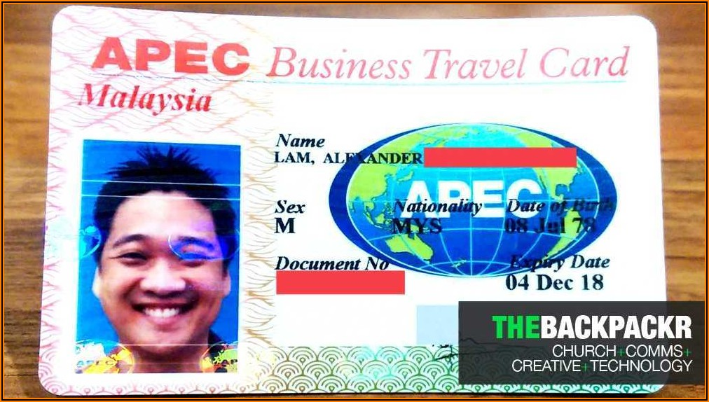 What Does An Apec Business Travel Card Do