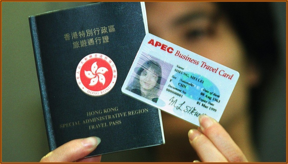 What Is Apec Business Travel Card