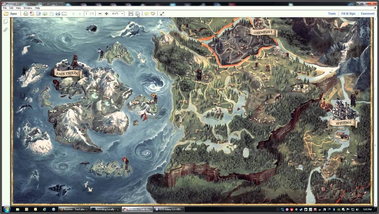 Witcher 3 Digital Map Pdf