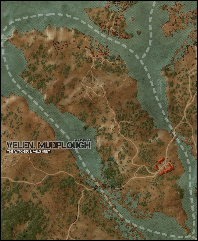 Witcher 3 Full Map Velen