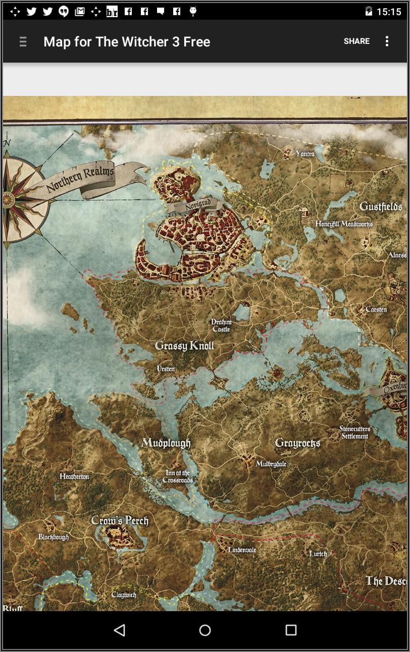 Witcher 3 Map Pdf