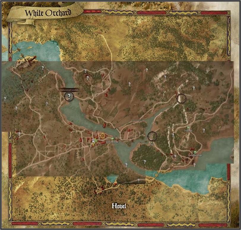 Witcher 3 Map Size Comparison Skyrim