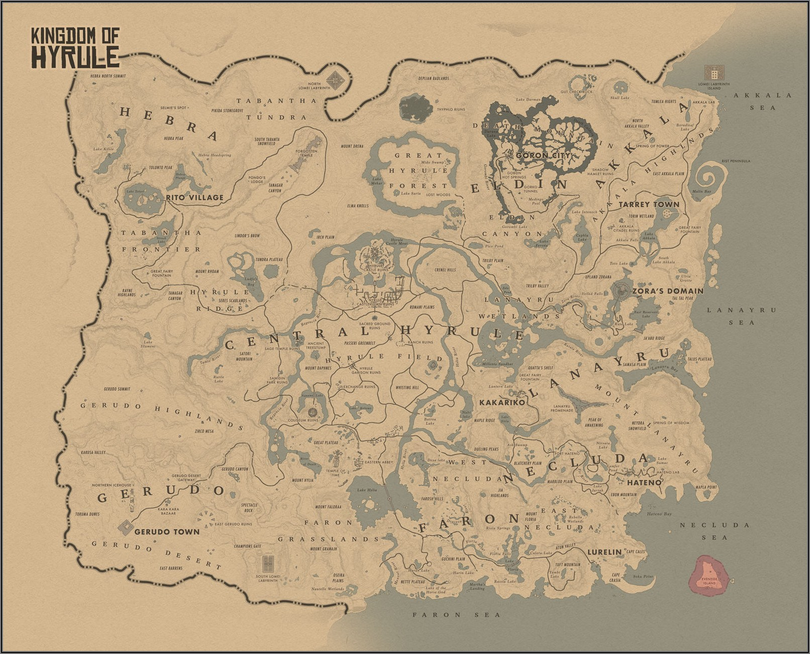 Witcher 3 Map Size Vs Red Dead Redemption 2
