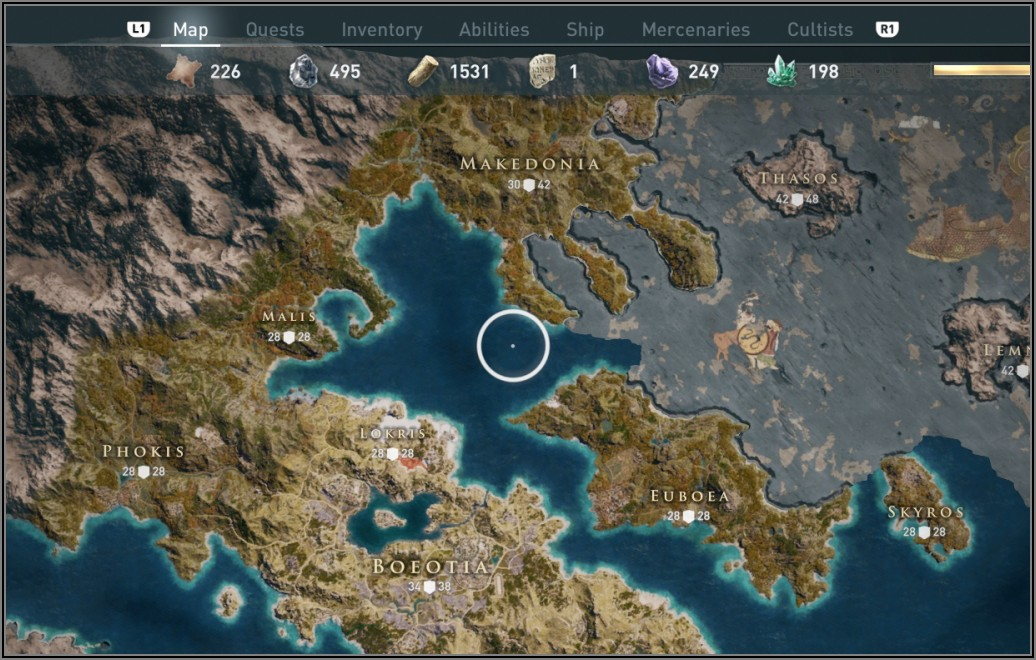 Witcher 3 Map Vs Assassin's Creed Odyssey