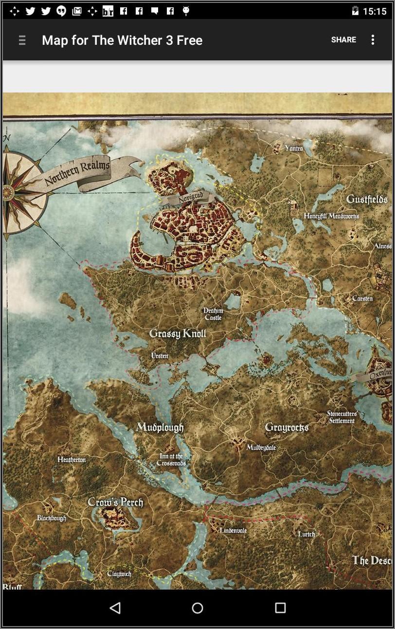 Witcher 3 Map Vs Gta 5