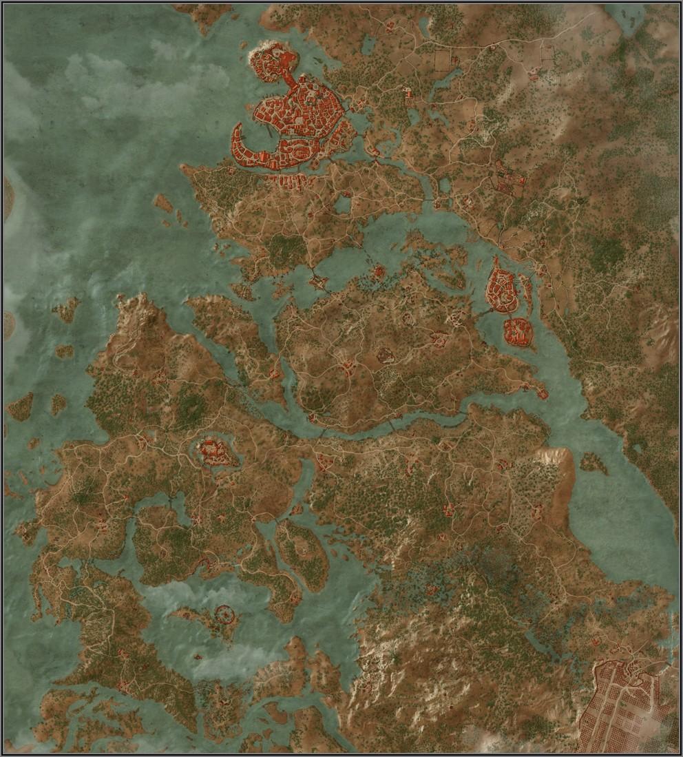 Witcher 3 Velen Map Level