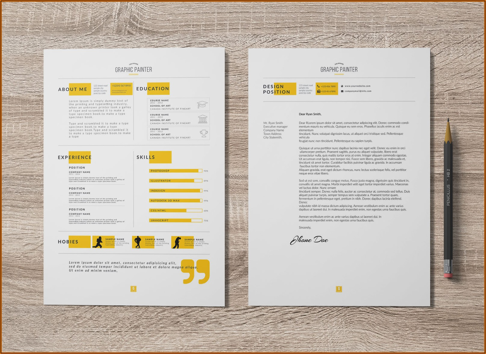 Word Template Resume Cover Letter