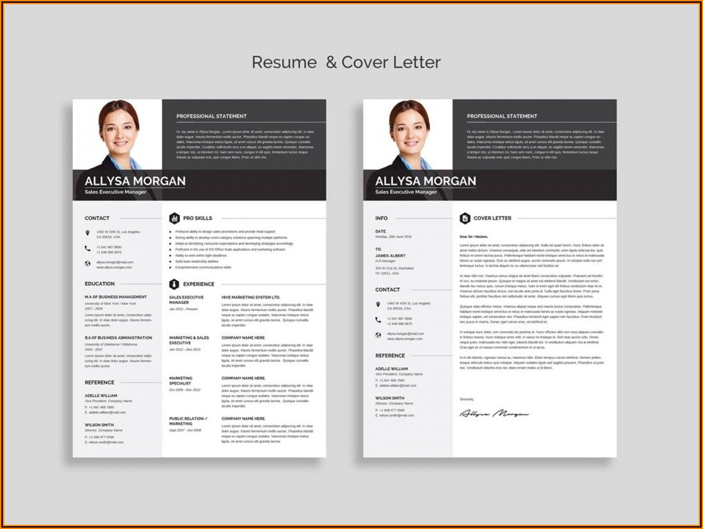 Word Template Resume Free Download