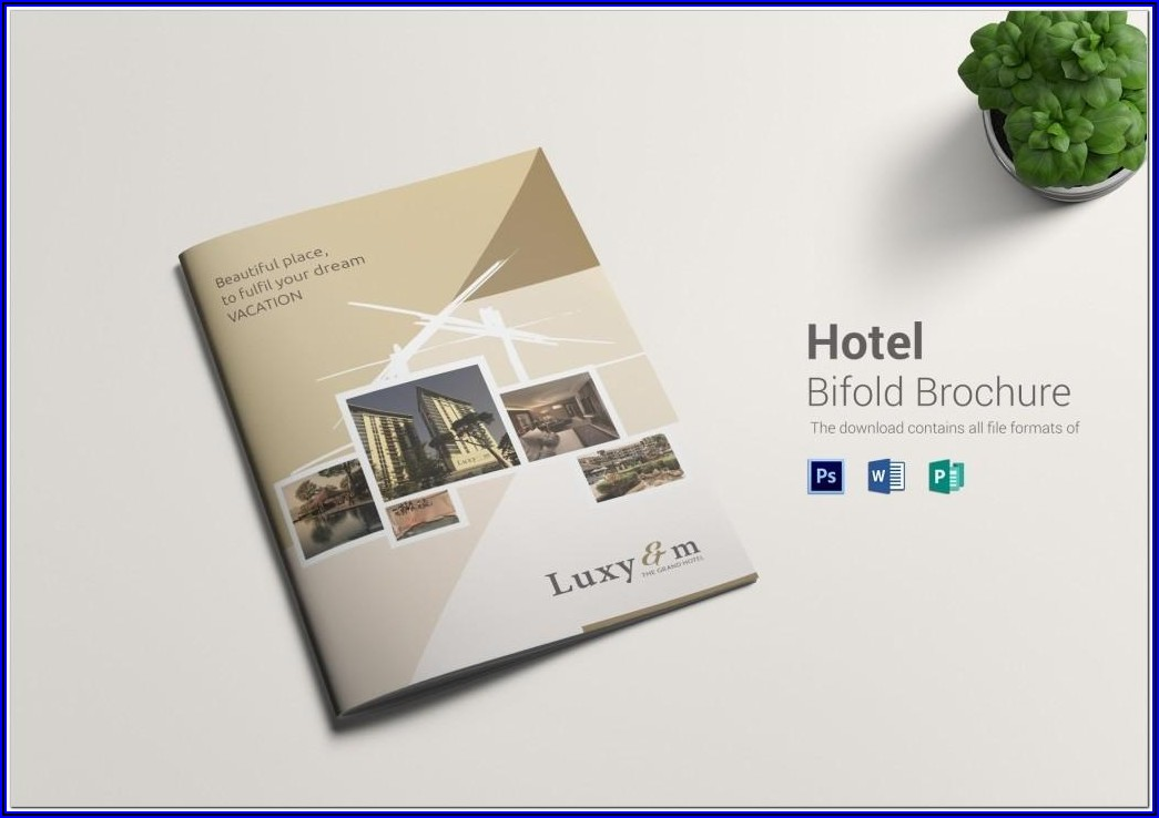 2 Fold Brochure Template Free Download Publisher