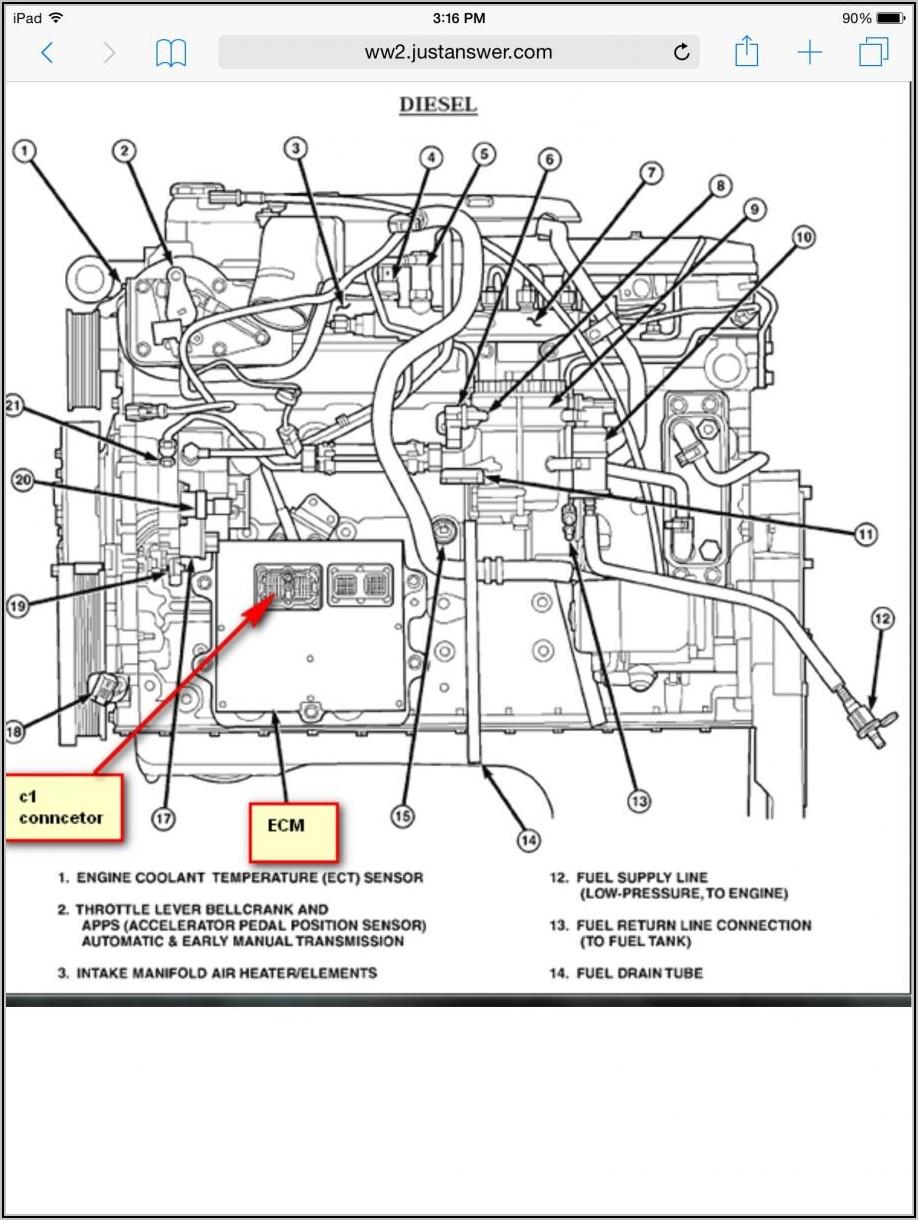 2007 5.9 Cummins Fuel Line Diagram