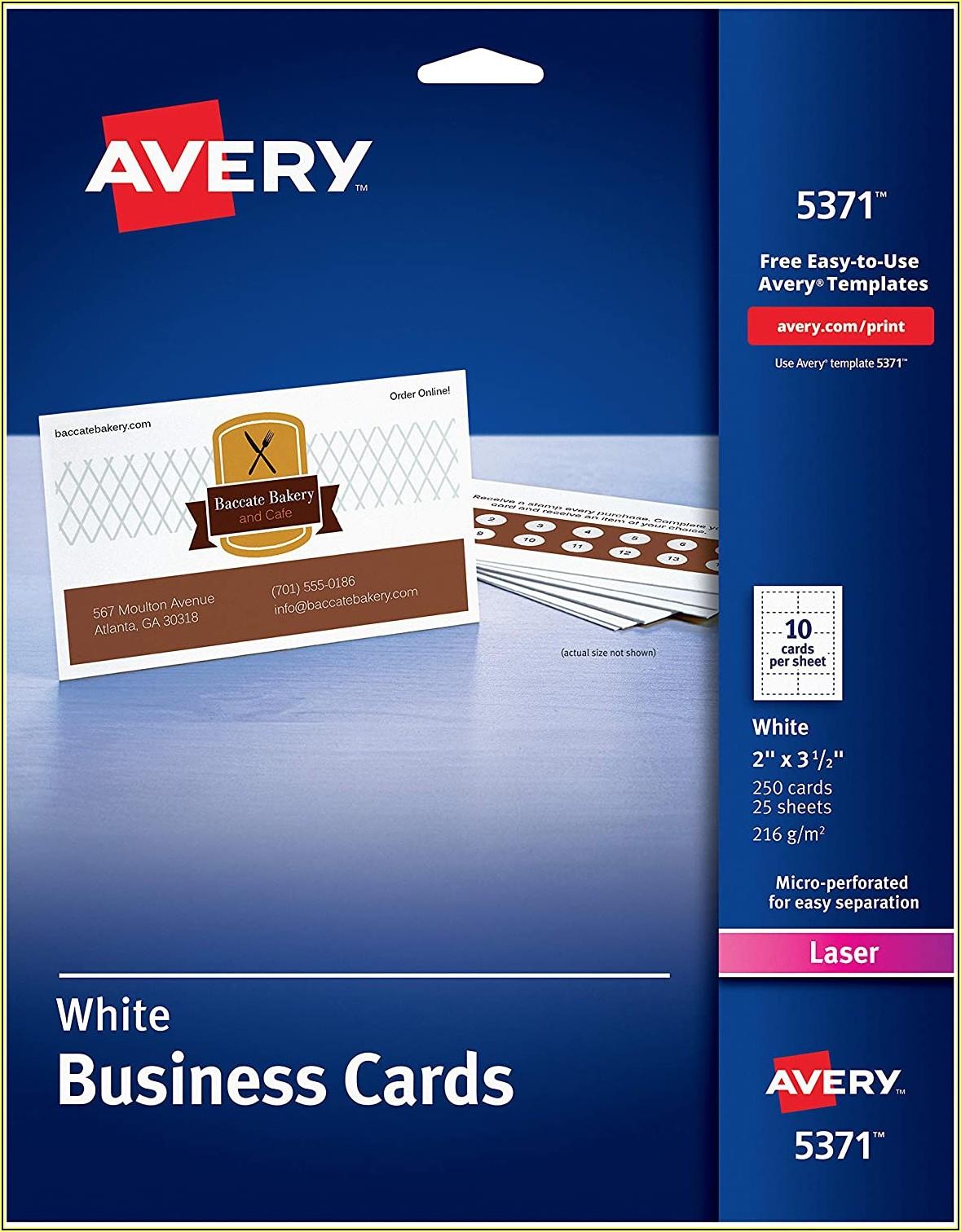 2x3 Business Card Template
