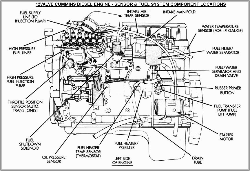 5.9 Cummins 12 Valve Fuel Line Diagram