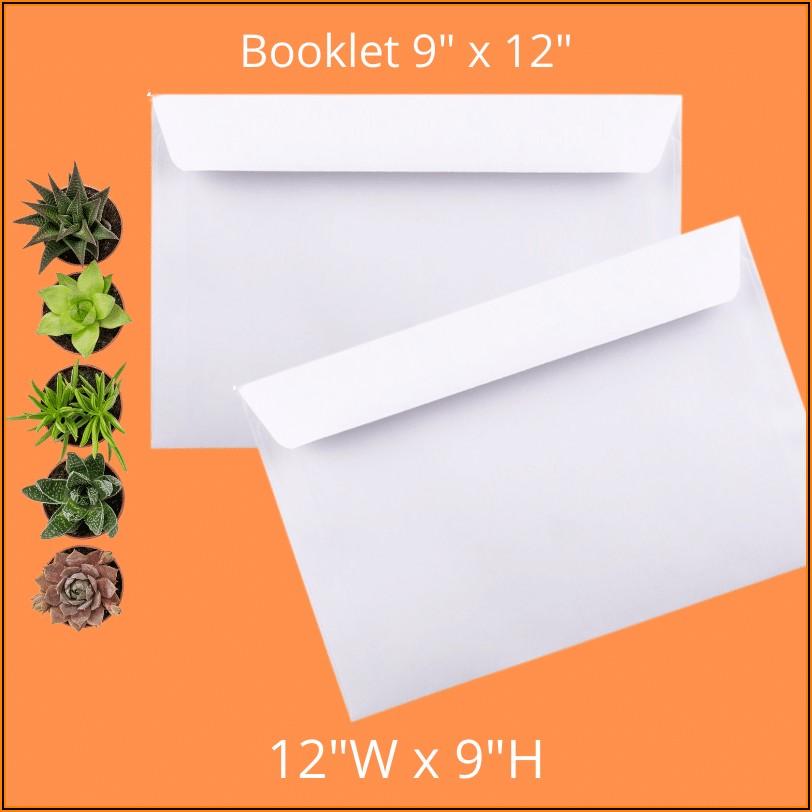 9x12 Envelope Template Word