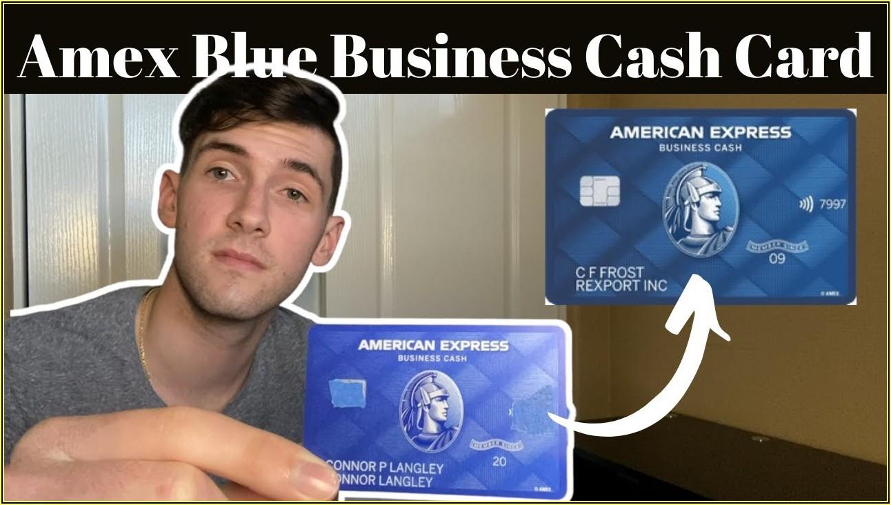 American Express Blue Business Cash Card Vs Blue Business Plus