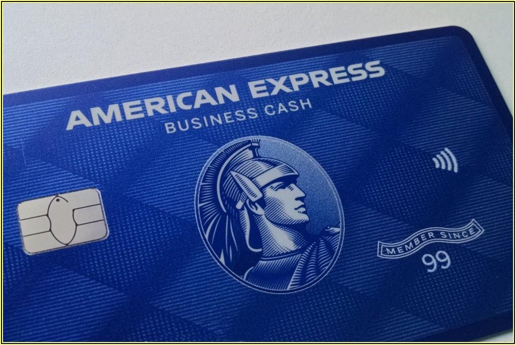 American Express Blue Business Cashtm Card