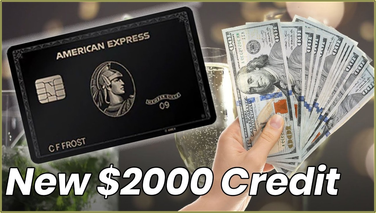 American Express Business Centurion Card Requirements