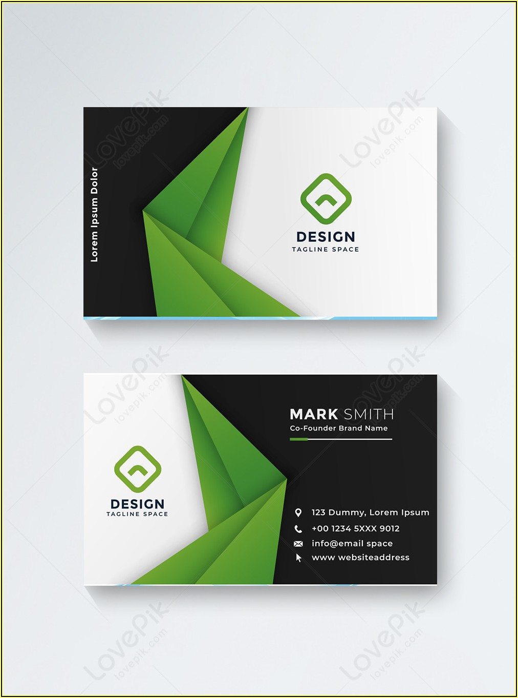 American Flag Business Card Templates Free
