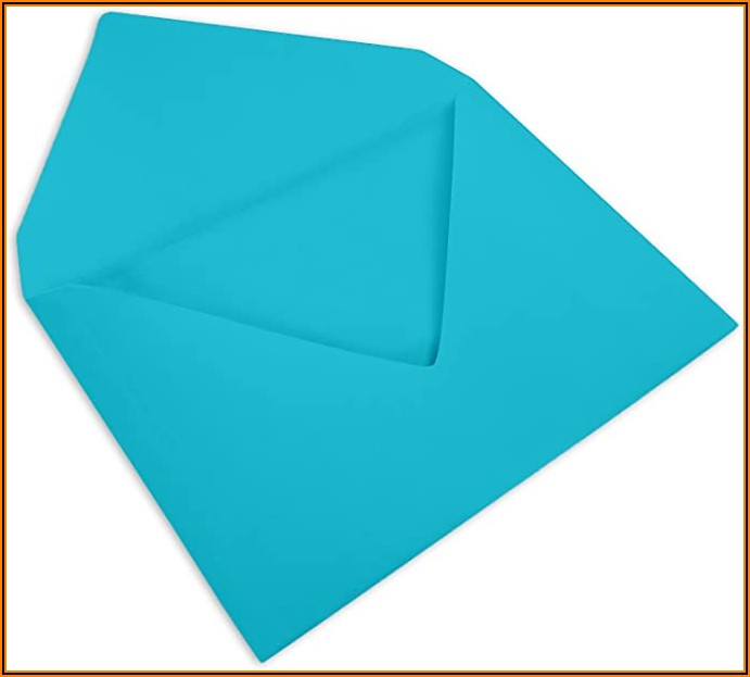 Baby Blue 4 X 6 Envelopes