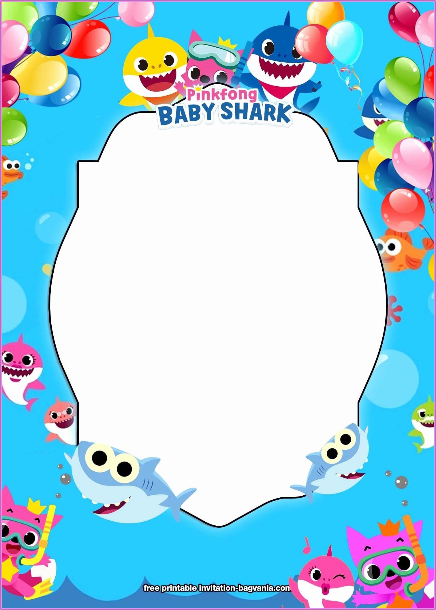 Baby Shark Birthday Printables Free