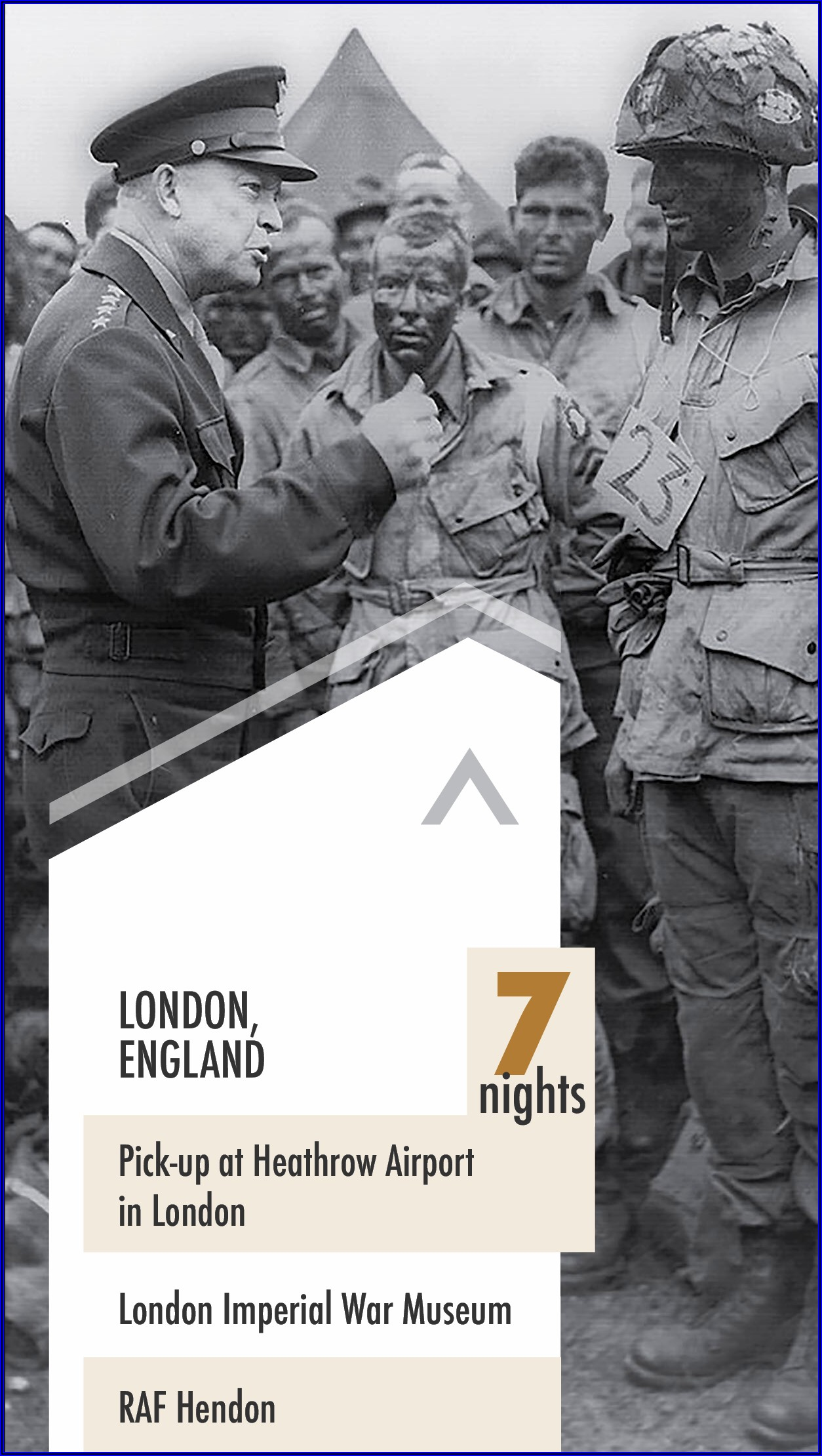Band Of Brothers Tour Brochure