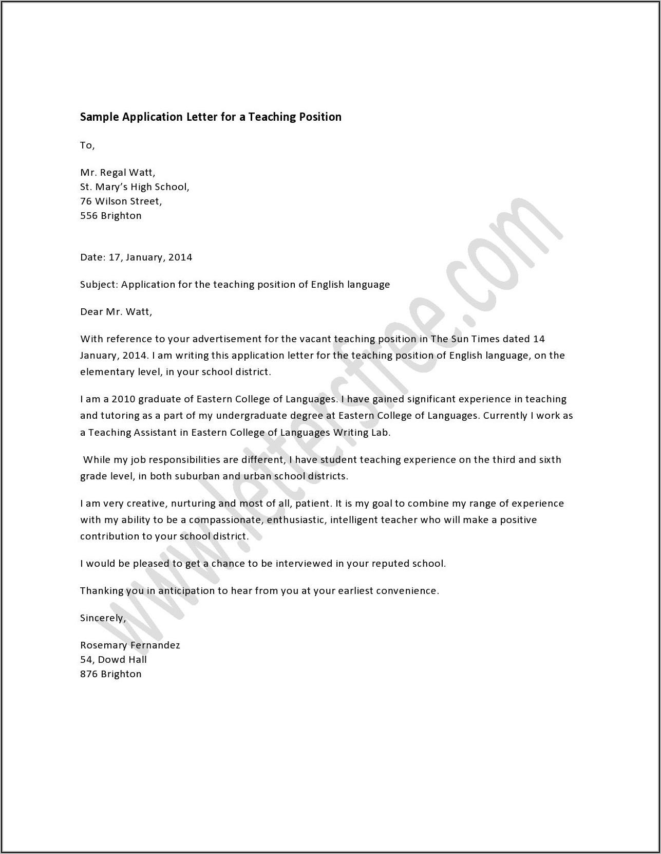 Bank Teller Cover Letter Samples