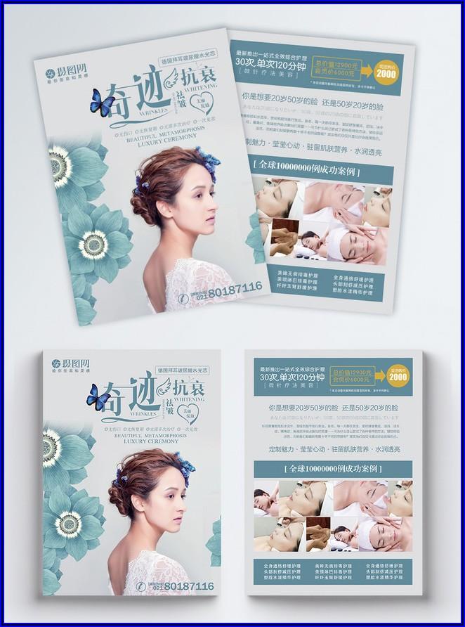 Beauty Salon Flyer Template Free Download