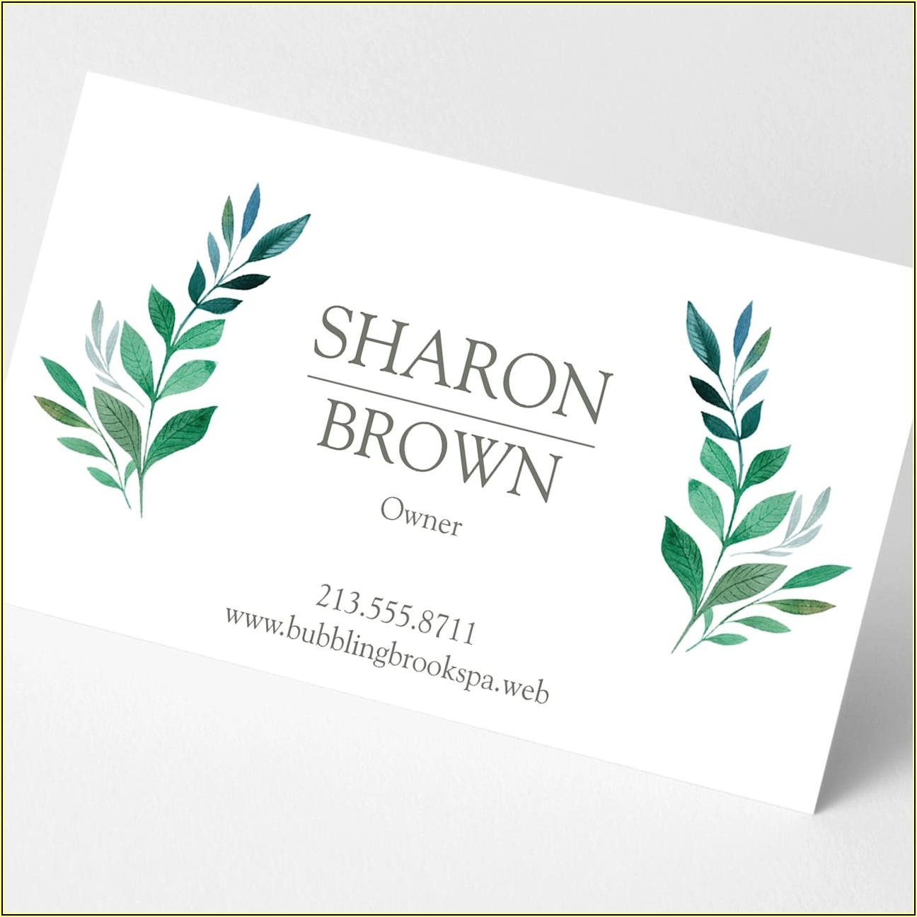 Best Vistaprint Business Card Designs