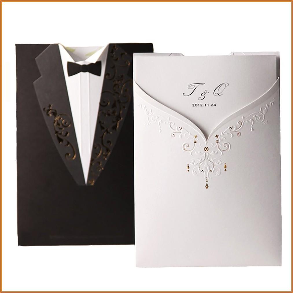 Blank Wedding Invites And Envelopes