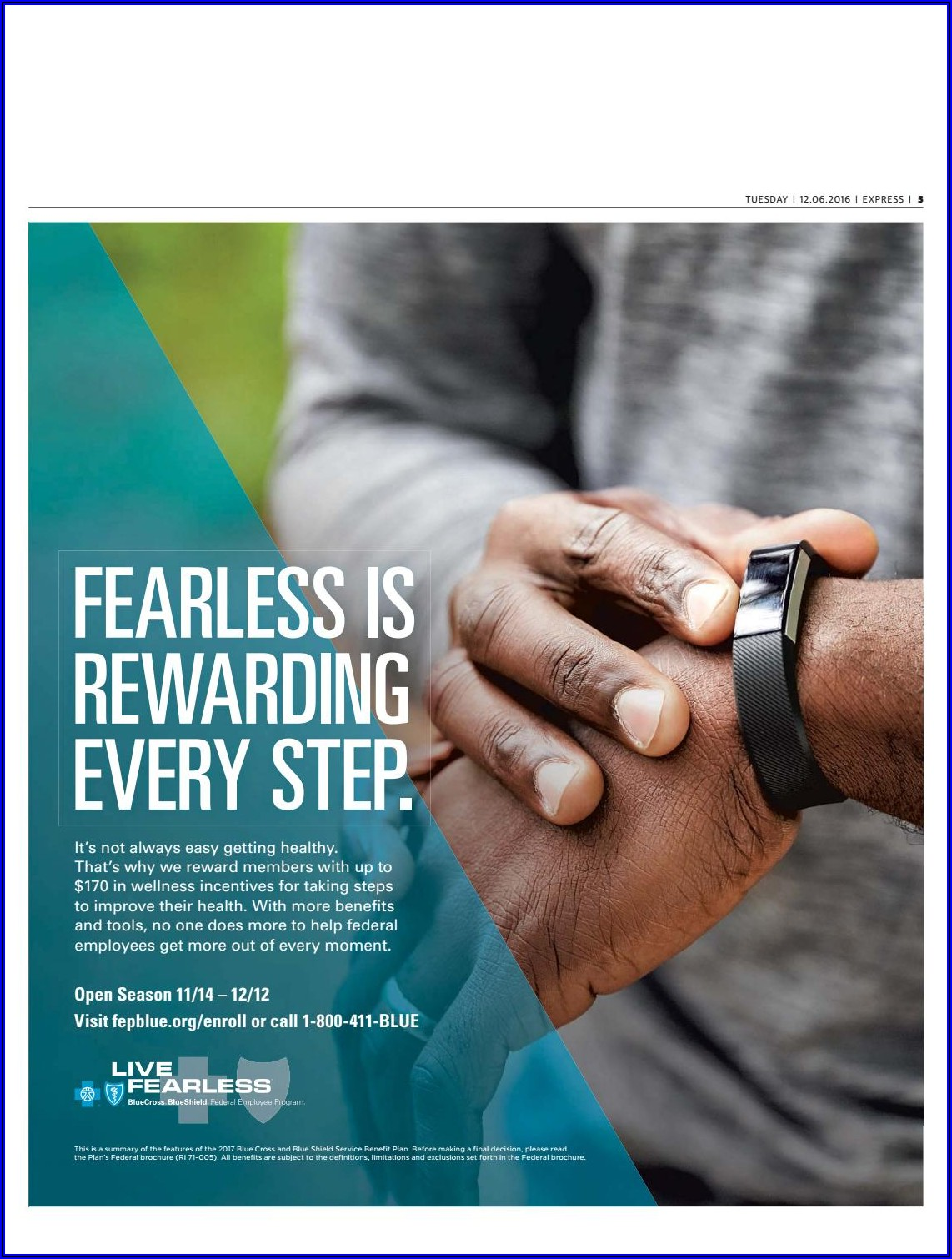 Blue Cross Blue Shield Federal Employee Brochure