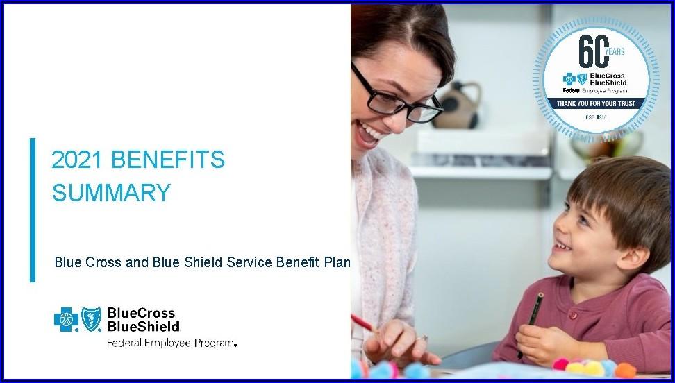Blue Cross Blue Shield Federal Plan Brochure 2021