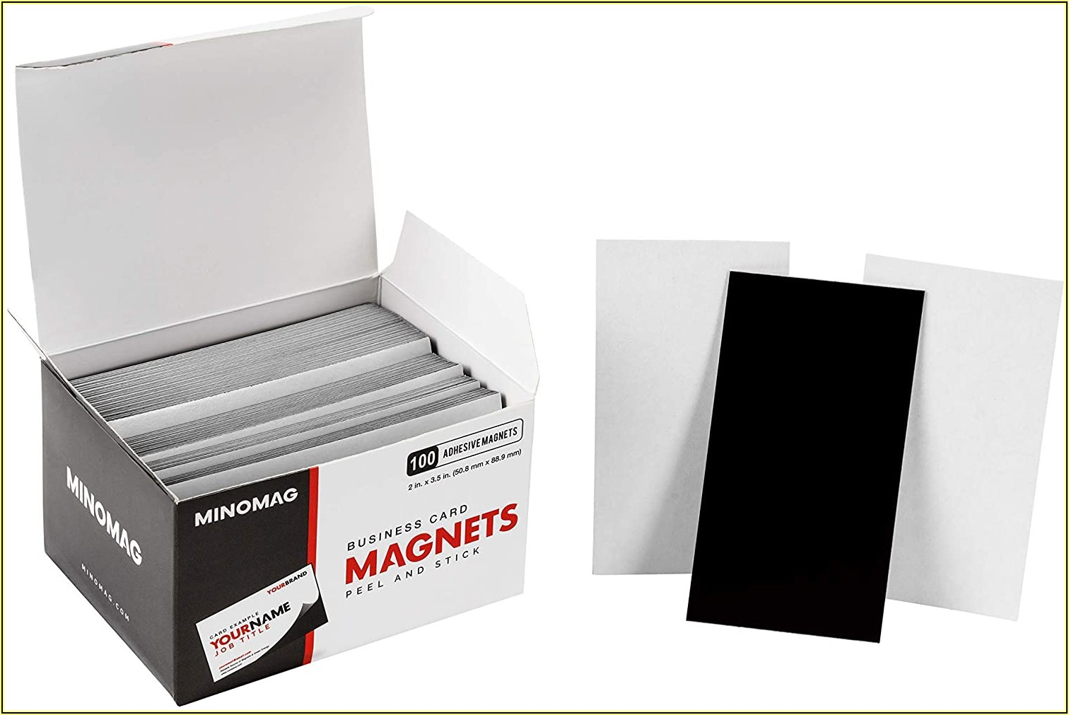 Business Card Magnets Peel And Stick