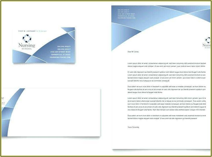 Business Card Template Word Free Download