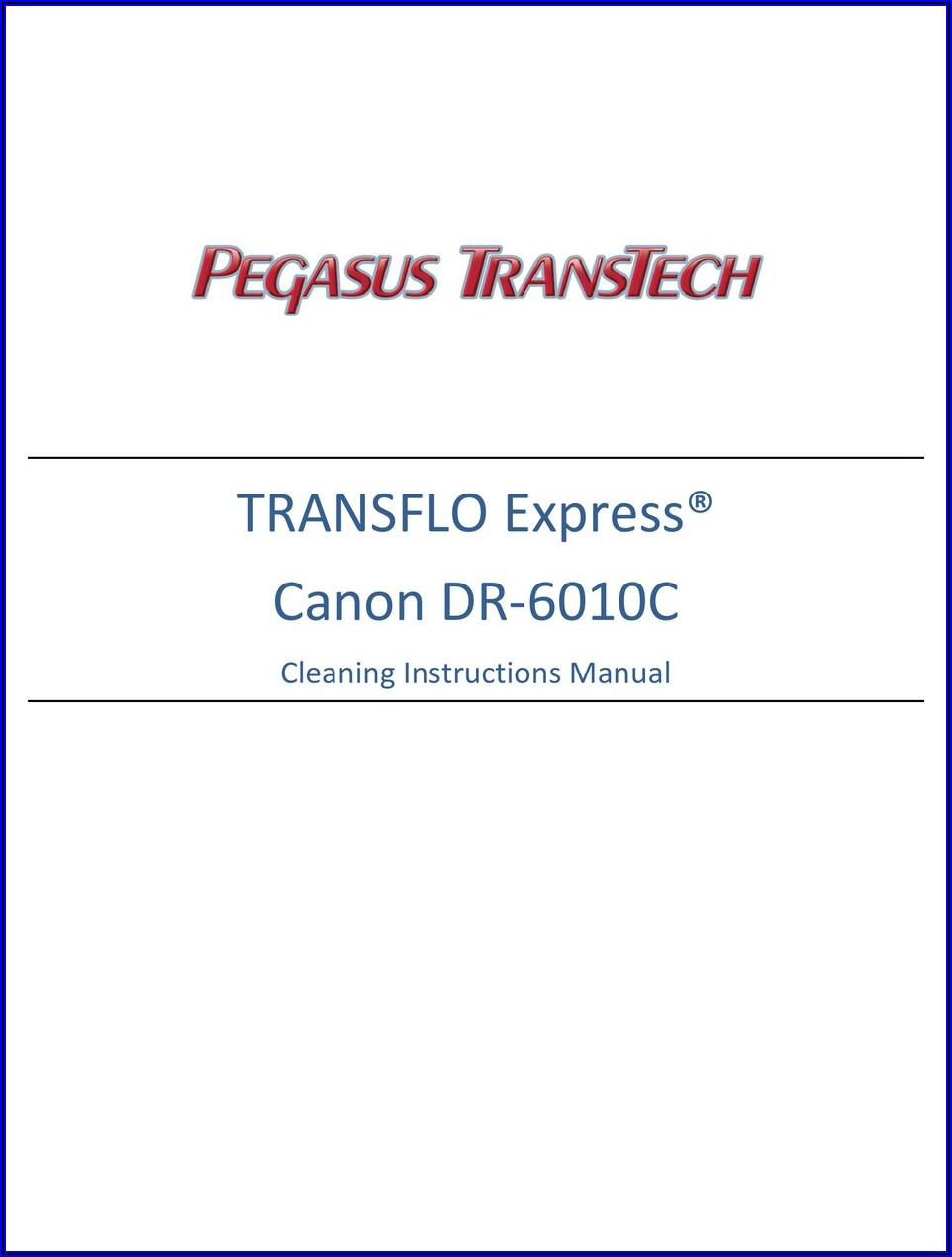 Canon Dr 6010c Manual