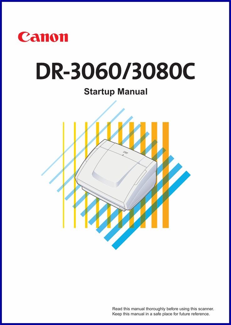 Canon Dr 6010c Service Manual