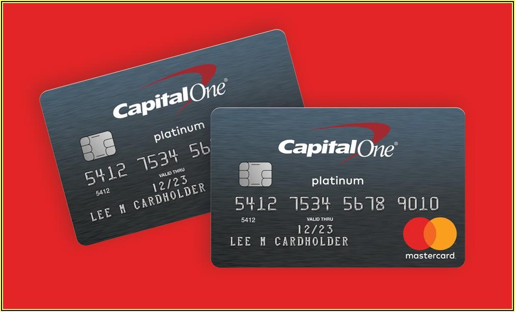 Capital One Visa Business Platinum Card