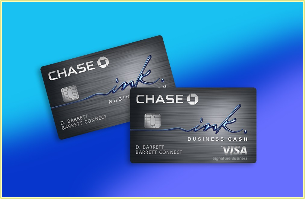 Chase Ink Business Card Visa Or Mastercard