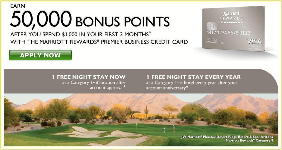Chase Marriott Rewards Visa Business Card