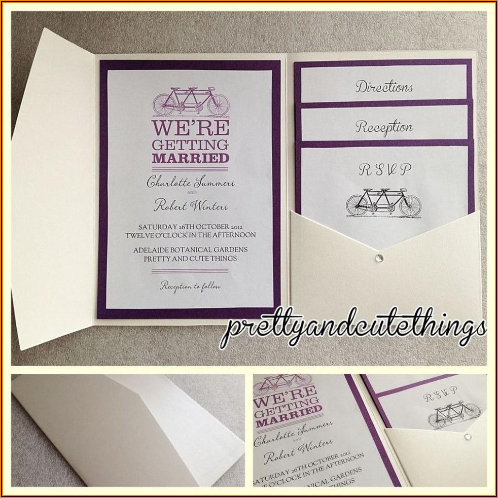 Cheap Pocket Envelopes For Wedding Invitations