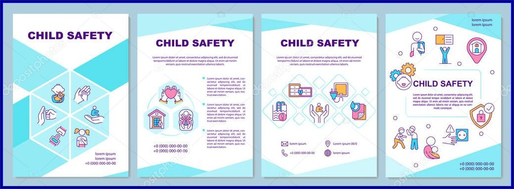 Child Care Brochure Template