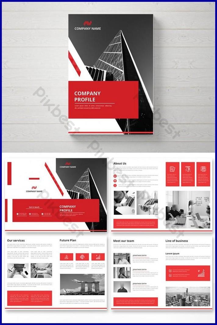 Company Brochure Design Template Free Download