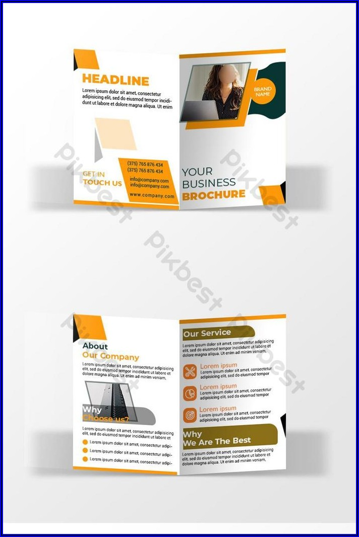 Corporate Booklet Template Free