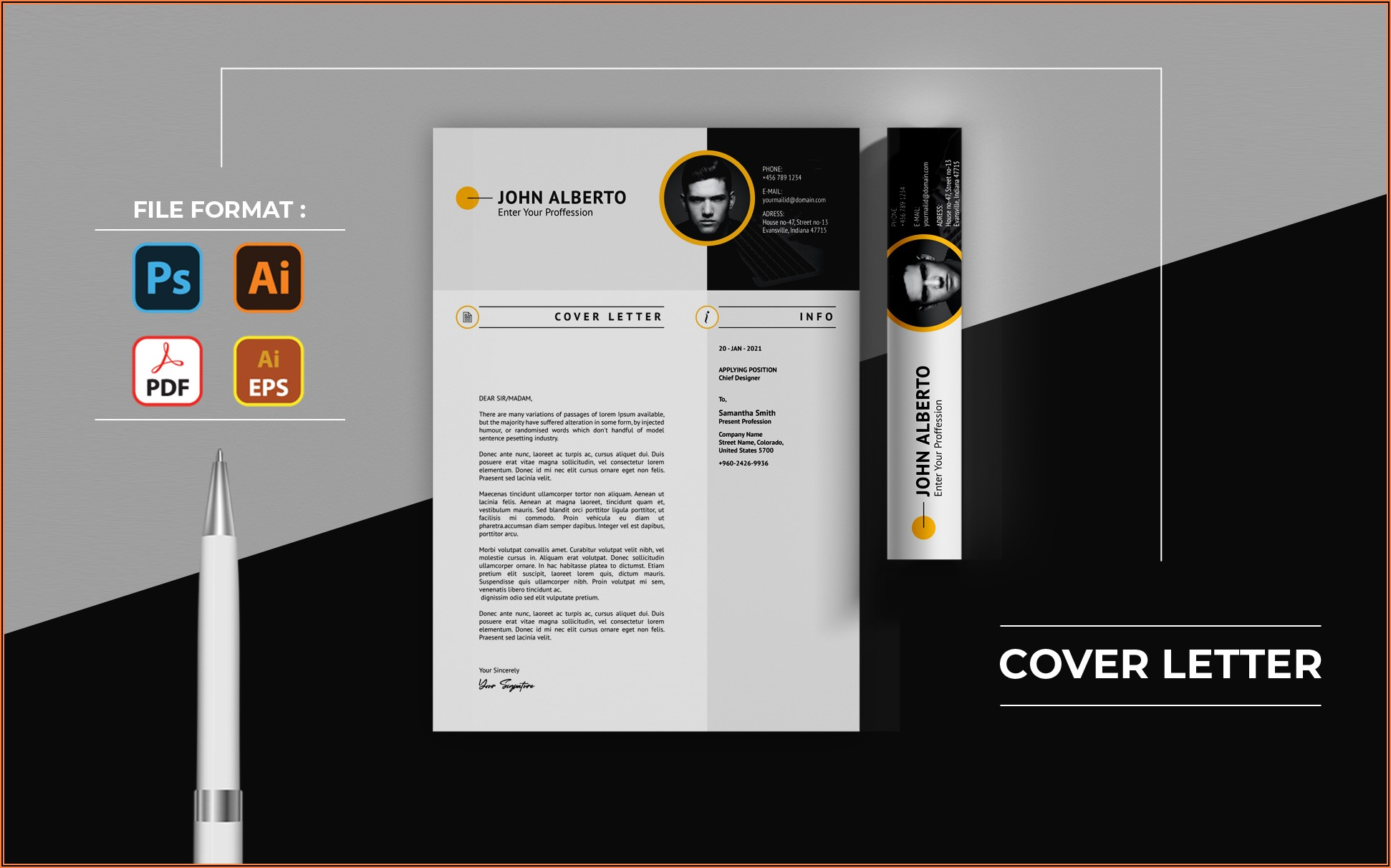 Cover Letter For Cv Template Free