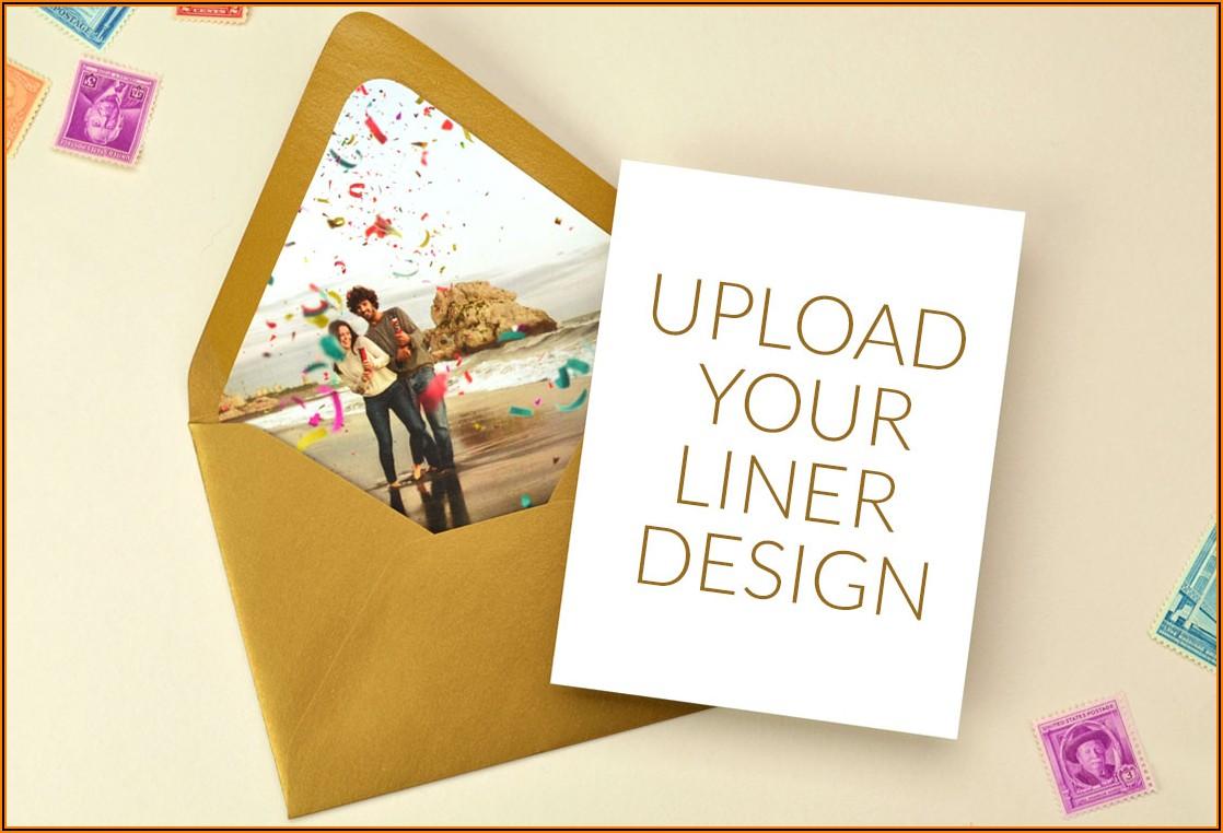 Custom A7 Envelope Liners
