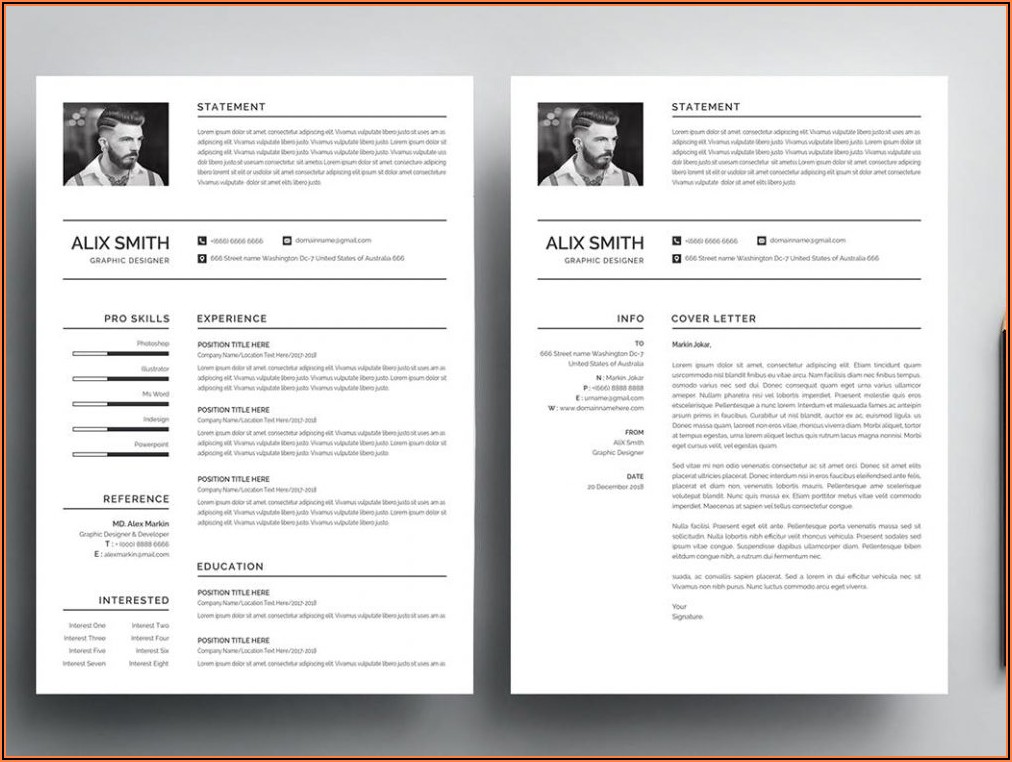 Cv Template Word File Free Download