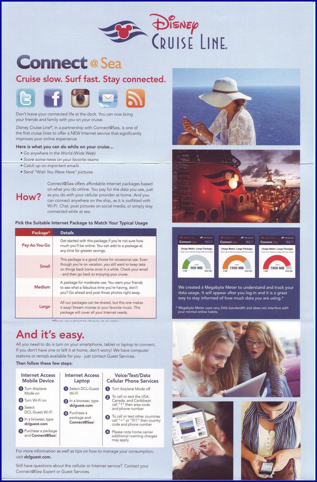 Disney Cruise Brochure Order