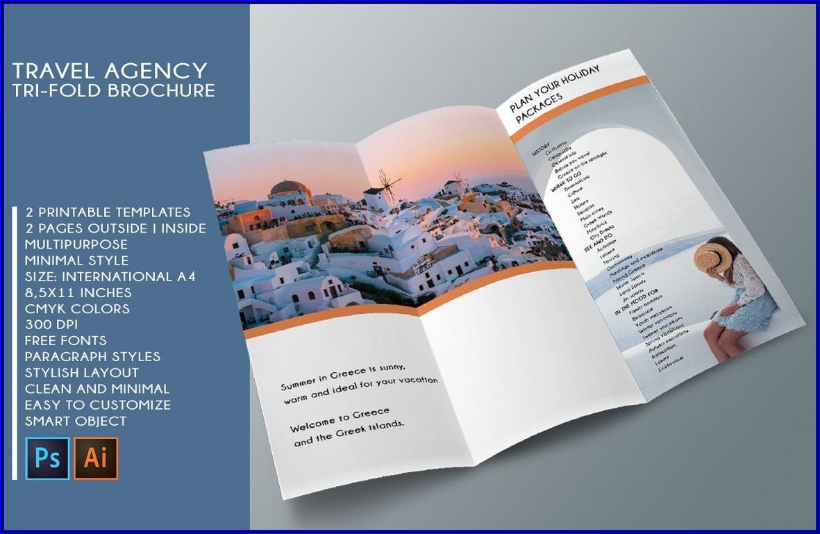 Download Brochure Template For Word