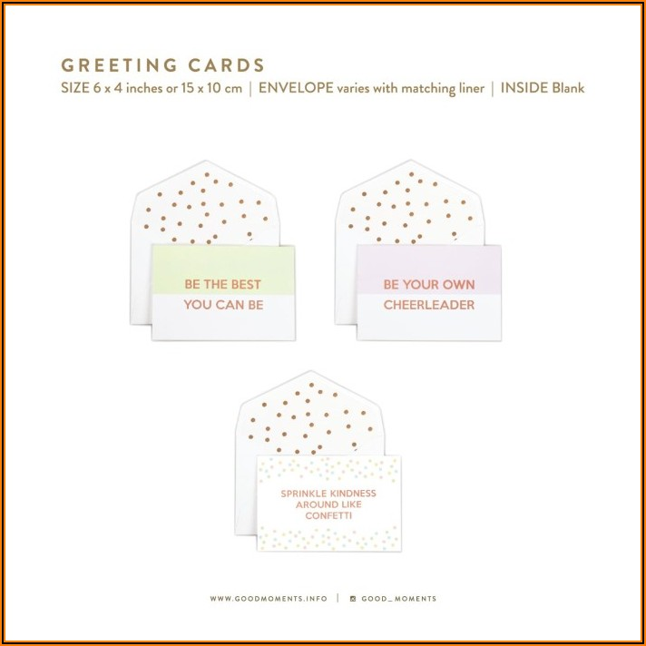 Envelope Size For 6x4 Card