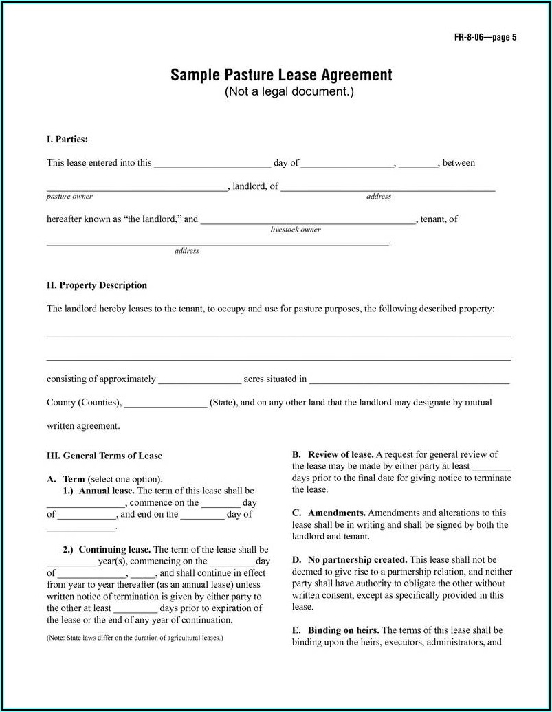 Free Month To Month Lease Agreement Nj