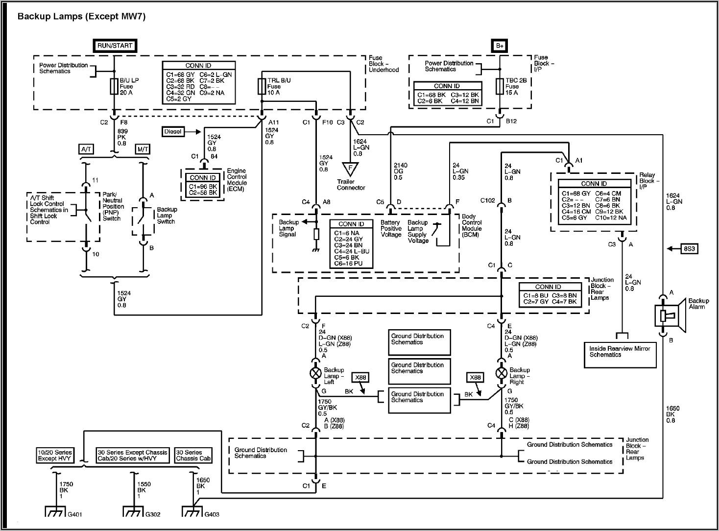 Gmc Truck Wiring Diagrams