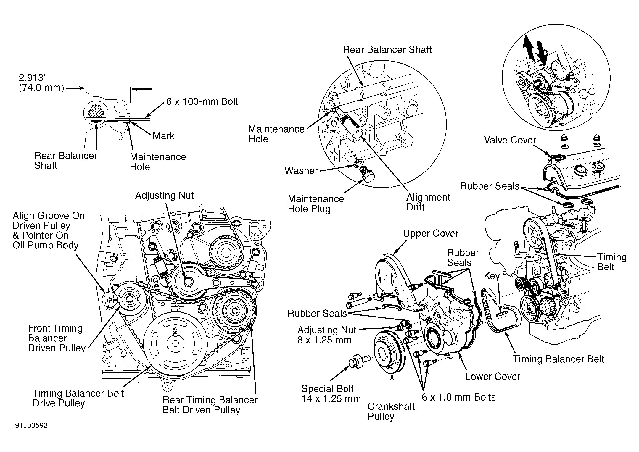 Honda Civic Engine Mount Diagram